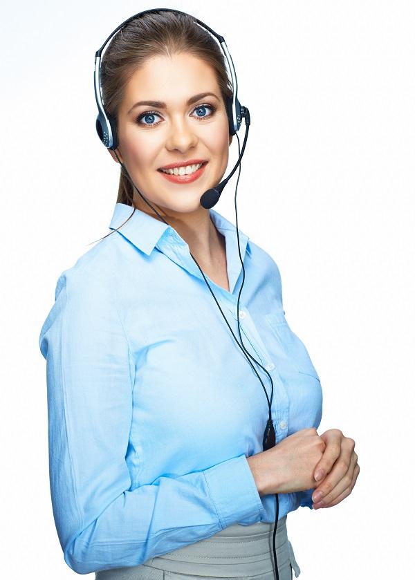 contact us girl 600x839
